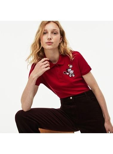 Lacoste Kadın Polo Tişört PF1348.BE7 Kırmızı